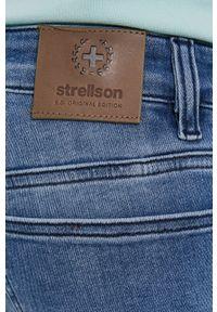 Niebieskie jeansy Strellson