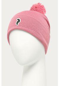 Różowa czapka Peak Performance #3