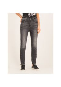 Szare jeansy slim Armani Exchange