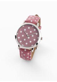 Fioletowy zegarek bonprix