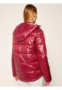 Różowa kurtka puchowa Pepe Jeans