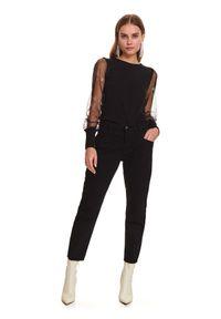 Czarne spodnie TOP SECRET długie