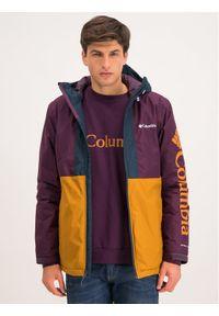 Kurtka sportowa columbia narciarska, w kolorowe wzory