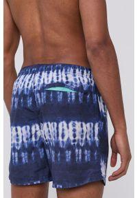 Pepe Jeans - Szorty kąpielowe Mateo. Kolor: niebieski. Materiał: materiał