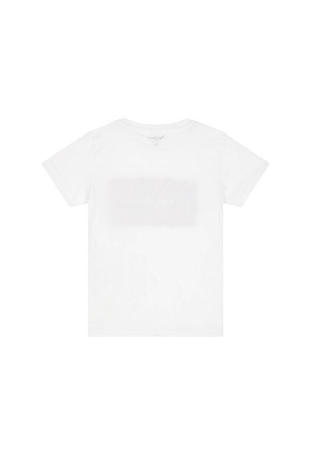 Biały t-shirt Pepe Jeans