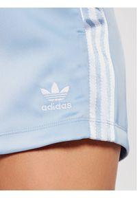 Adidas - adidas Szorty sportowe adicolor Classics Satin H37808 Niebieski Standard Fit. Kolor: niebieski