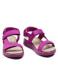 Fioletowe sandały ecco