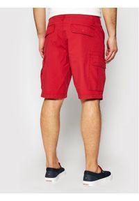 Napapijri Szorty materiałowe Noto 4 NP0A4F9U Czerwony Regular Fit. Kolor: czerwony. Materiał: materiał