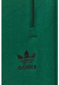 Zielone spodnie dresowe adidas Originals