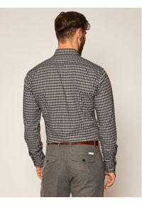 Karl Lagerfeld - KARL LAGERFELD Koszula 605 003 502 691 Szary Slim Fit. Typ kołnierza: dekolt w karo. Kolor: szary