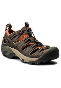 Brązowe sandały trekkingowe keen