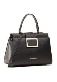 Czarna torebka klasyczna Gino Rossi skórzana