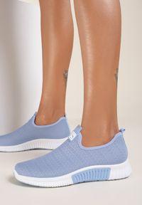 Niebieskie buty sportowe Renee