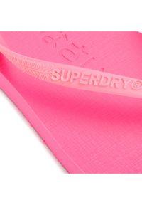 Superdry Japonki Super Sleek Fluro Flip Flop WF310008A Różowy. Kolor: różowy #7