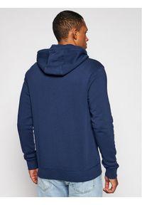 Napapijri Bluza B-Ice Fzh NP0A4F76 Granatowy Regular Fit. Kolor: niebieski
