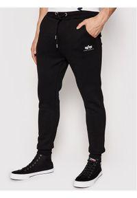 Czarne spodnie dresowe Alpha Industries