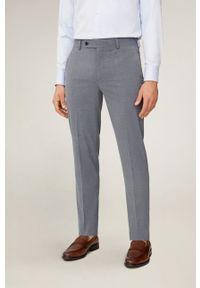 Mango Man - Spodnie 77010016. Kolor: szary
