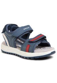 Niebieskie sandały Geox na lato, klasyczne