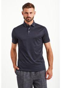 Koszulka polo Emporio Armani polo, w kolorowe wzory, sportowa