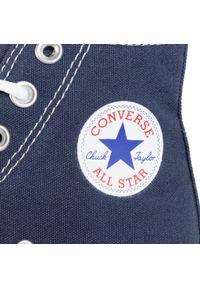 Niebieskie półbuty Converse na lato, klasyczne, na co dzień