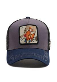 CapsLab - Czapka z daszkiem CAPSLAB - Looney Tunes Sam Trucker CL/LOO/1/SAM2 Granatowy. Kolor: niebieski. Materiał: materiał, bawełna, poliester