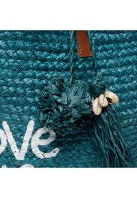 Desigual Torebka 20SAXO02 Niebieski. Kolor: niebieski