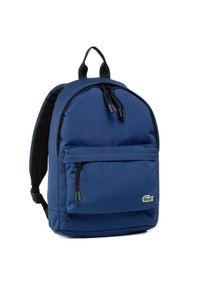 Niebieski plecak Lacoste