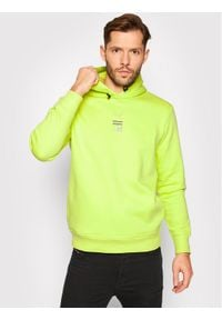 Puma Bluza HELLY HANSEN Hoodie 598283 Zielony Regular Fit. Kolor: zielony