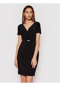 Lauren Ralph Lauren Sukienka koktajlowa 250785864002 Czarny Regular Fit. Kolor: czarny. Styl: wizytowy