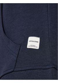 Jack & Jones - Jack&Jones Bluza Basic 12182537 Granatowy Regular Fit. Kolor: niebieski