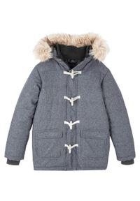 Czarna kurtka bonprix na zimę, melanż
