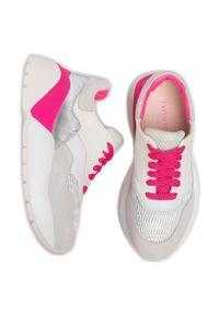 Białe buty sportowe TwinSet do biegania