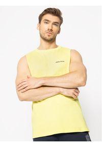 Żółty tank top Calvin Klein Swimwear retro