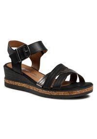 Czarne sandały Remonte