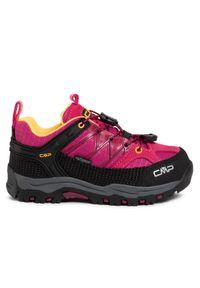 CMP Trekkingi Kids Rigel Low Trekking Shoes Wp 3Q54554 Różowy. Kolor: różowy. Sport: turystyka piesza