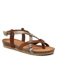 Brązowe sandały Igi & Co
