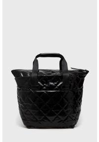 Aldo - Torebka Feraria. Kolor: czarny. Rodzaj torebki: na ramię