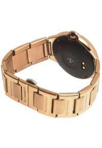 Złoty zegarek GARETT smartwatch, sportowy