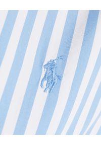 Ralph Lauren - RALPH LAUREN - Koszula w paski Classic Fit. Typ kołnierza: polo. Kolor: biały. Długość rękawa: długi rękaw. Długość: długie. Wzór: paski. Styl: klasyczny #5