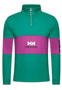 Helly Hansen Bluza YU20 1/2 Zip 53456 Zielony Regular Fit. Kolor: zielony
