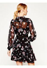 iBlues Sukienka codzienna Delfina 72210301 Czarny Loose Fit. Okazja: na co dzień. Kolor: czarny. Typ sukienki: proste. Styl: casual #4
