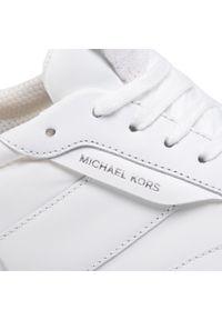 Białe półbuty Michael Kors z cholewką, eleganckie