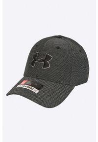 Szara czapka z daszkiem Under Armour gładkie