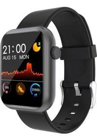 Smartwatch Colmi P9 Czarny (P9 Black). Rodzaj zegarka: smartwatch. Kolor: czarny