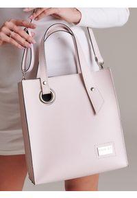 Różowa torebka Badura klasyczna