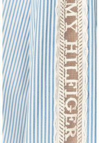 TOMMY HILFIGER - Tommy Hilfiger - Koszula WW0WW27372. Kolor: niebieski