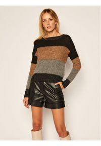 Sweter klasyczny Liu Jo w kolorowe wzory