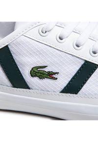 Lacoste Sneakersy Sideline 0721 1 Cma 7-41CMA00181R5 Biały. Kolor: biały