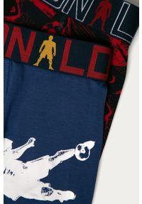 Wielokolorowe majtki Cristiano Ronaldo CR7 z nadrukiem