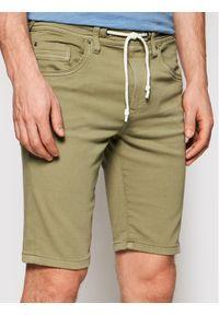 Zielone szorty Pepe Jeans